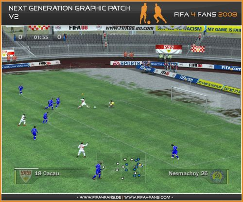 3D Grass of the Next Generation 2010 Graphic Patch Adboards 2010 FIFA World